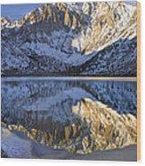Laurel Mt And Convict Lake Sierra Wood Print