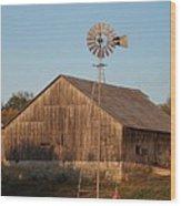 Laurel Road Barn Wood Print