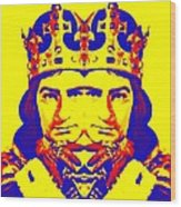Laurence Olivier Double In Richard IIi Wood Print