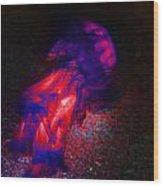 Lava Jelly Wood Print