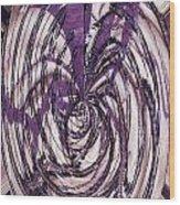 Lavender Bead Art Wood Print