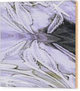 Lavender Butterfly Wood Print