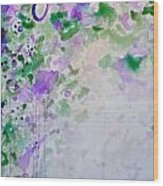 Lavender Dreams 1 Wood Print
