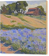 Lavender Hollow Farm Wood Print