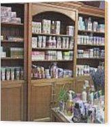 Lavender Museum Shop 1 Wood Print