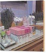 Lavender Museum Shop 2 Wood Print