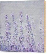 Lavender Romance Wood Print