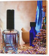 Lavender Shop Wood Print