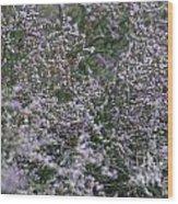 Lavender Silver Lining Wood Print