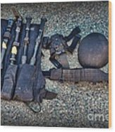 Law Enforcement -swat Gear - Entry Tools Wood Print by Paul Ward