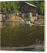 Lawrence County Grist Mill Wood Print