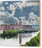 Lawrence Ma Historic Clock Tower Wood Print