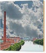 Lawrence Ma Skyline Wood Print