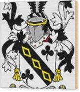 Lawson Coat Of Arms Irish Wood Print