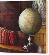 Lawyer - A World Traveler Wood Print