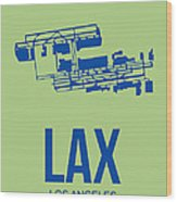 Lax Airport Poster 1 Wood Print