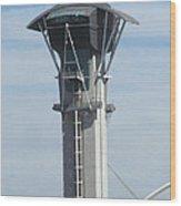 Lax Control Tower Wood Print