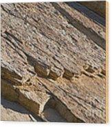 Layered Rock Wood Print
