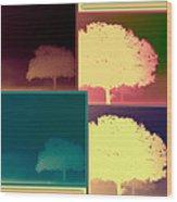 Layers Of Fog Wood Print