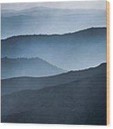Layers Of Paradise Wood Print