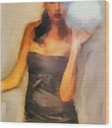 Layla  Wood Print