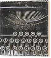 L.c. Smith Wood Print