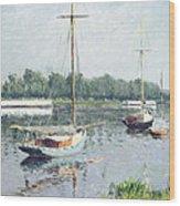 Le Bassin D'argenteuil Wood Print