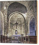 Le Castellet Medieval Church Wood Print