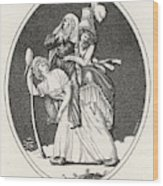 'le Grand Abus' A Cartoon Showing Wood Print