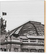 Le Grand Palais Wood Print by Olivier Le Queinec