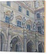 Le Louvre IIi Wood Print