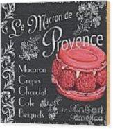 Le Macron De Provence Wood Print