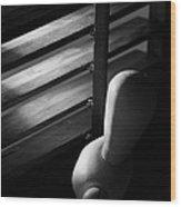 Le Mannequin Wood Print