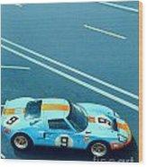 Le Mans 68 Wood Print