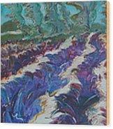 Le Mistral - Original For Sale Wood Print