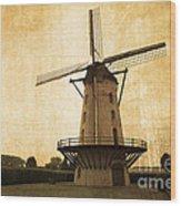 Le Moulin Jaune  Wood Print