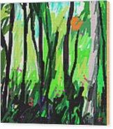 Le Mystic  Wood Print