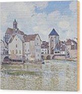 Le Pont De Moret Wood Print