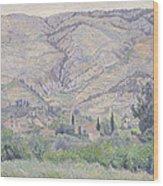 Le Ragas, Near Toulon, 1930 Wood Print