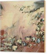 Le Souffle De L Ange Wood Print