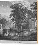 Le Temple Wood Print