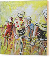 Le Tour De France 07 Acrylics Wood Print