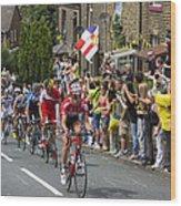 Le Tour De France 2014 - 4 Wood Print
