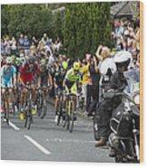 Le Tour De France 2014 - 5 Wood Print
