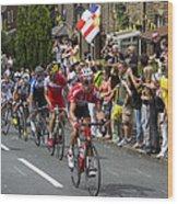 Le Tour De France 2014 - 9 Wood Print