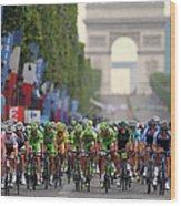 Le Tour De France 2014 - Stage Twenty Wood Print