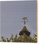 Le Tour Weather Vane Wood Print