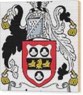 Leader Coat Of Arms Irish Wood Print