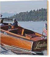 Leading Lady Wood Print