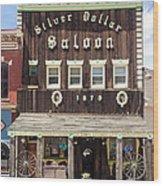 Leadville Saloon Wood Print
